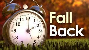 Fall Back- Daylight Savings